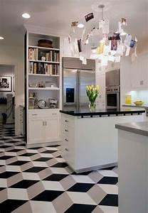 Bodenbelag Küche Linoleum : vinyl linoleum tiles can actually look good really floors fliesen boden k che ~ Watch28wear.com Haus und Dekorationen