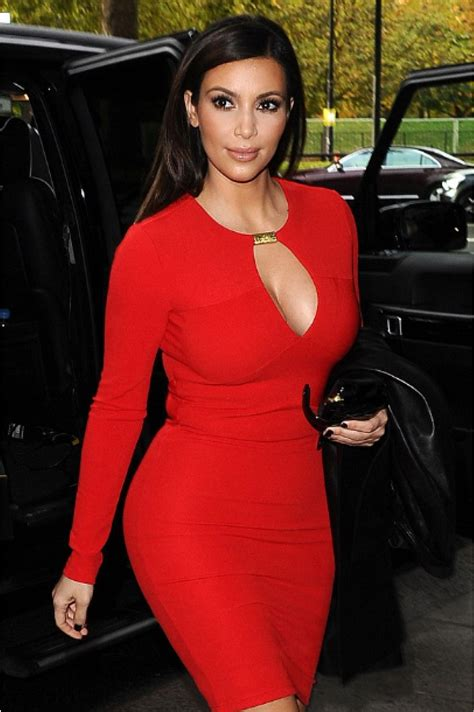 Kim Kardashian Red Cutout Short Sexy Cocktail Party Dress