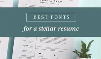 best fonts for resumes best fonts for resumes that truly stand out creative market