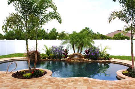 landscaping pool pool landscape small yard home pinterest yards landscaping and backyard