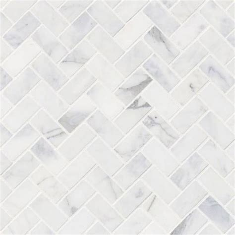 msi calacatta cressa herringbone tile backsplash smot
