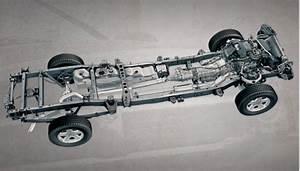 A Dodge Ram 2500 Ladder Frame Chassis  1