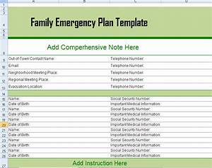 Old fashioned disaster plan template mold example resume for Emergency response plan template for small business