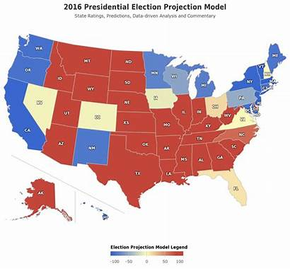 Election Presidential Map Polls Republican Elections Projections