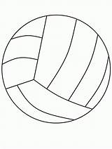 Volleyball Coloring Pages Printable Ball Beach Clipart Clip Bestcoloringpagesforkids Library sketch template