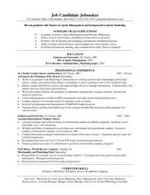resume sle for a college graduate news college of hospitality retail sport management rachael edwards