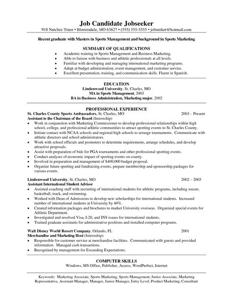 sample athletic resumes sports resume samples for colleges bongdaao com