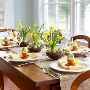 Tischdeko Für Ostern : tischdeko zu ostern selbst basteln ~ Watch28wear.com Haus und Dekorationen