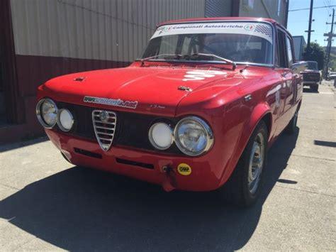 1975 Alfa Romeo Giulia 1.6 Super Race Car