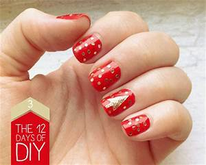 Easy Christmas Nail Art Designs & Ideas 2013 2014