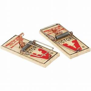 Victor Mouse Trap Old Fashion Spring Mouse Trap Metal Bait