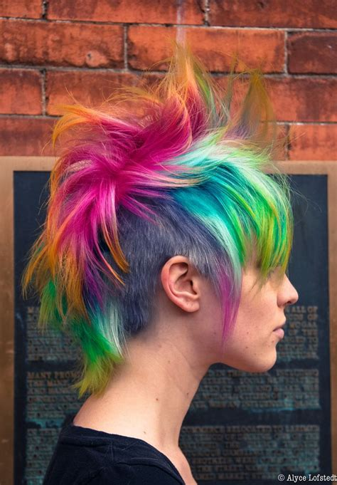 1617 Best Rainbow Hair Images On Pinterest