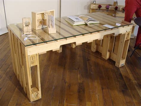 bureau palette bois meuble de cuisine en palette meuble en palette 81 ides