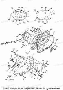 Yamaha Motorcycle 2001 Oem Parts Diagram For Crankcase