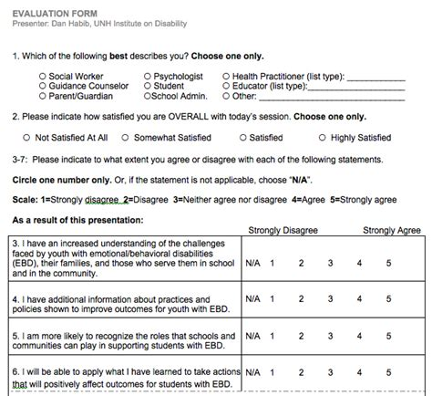18063 conference evaluation form in word host a screening kit