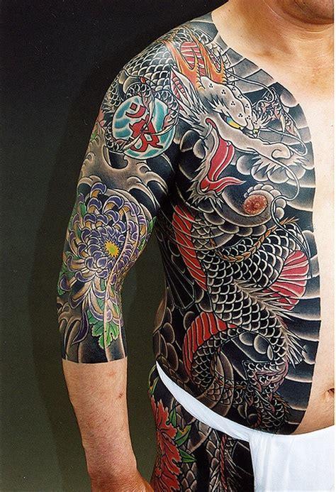 Tatouage Yakuza  20 Exemples De Cet Art Japonais Traditionnel