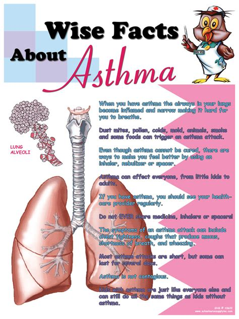 FREE Asthma Poster & $10 Gift Card