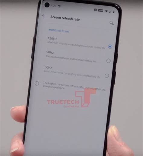 oneplus  pro hz setting screen leaks  punch hole
