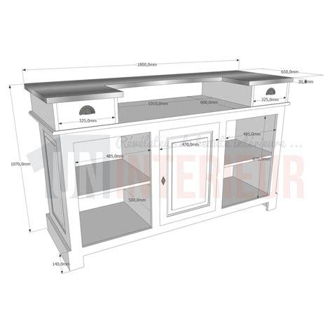 hauteur d un bar de cuisine hauteur d un meuble de cuisine photos de conception de