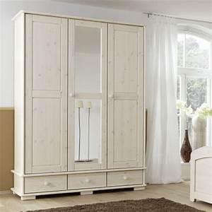 Kleiderschrank Weiß Spiegel : kleiderschrank lovely kiefer massivholz home24 ~ Frokenaadalensverden.com Haus und Dekorationen