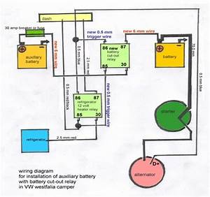 Vanagon Auxiliary Battery Wiring Diagram