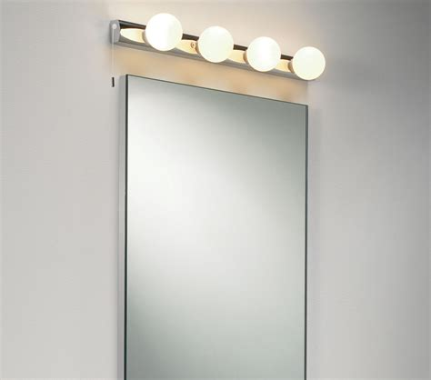 astro cabaret 4 light bathroom wall light polished chrome