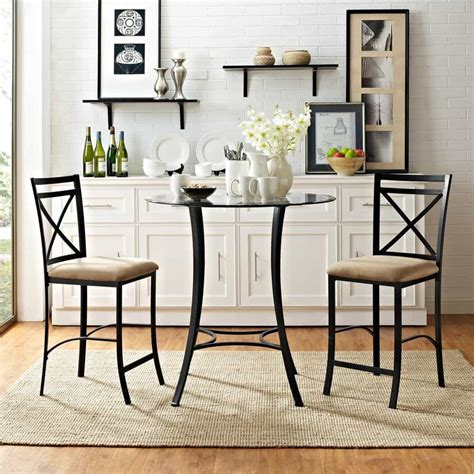 space saving small kitchen table sets
