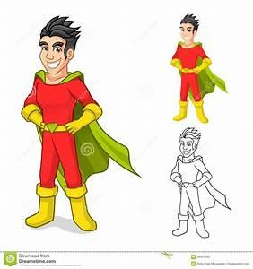 Pole Position Dessin Animé : personnage de dessin anim frais de superh ros avec le cap et la pose de position illustration ~ Medecine-chirurgie-esthetiques.com Avis de Voitures