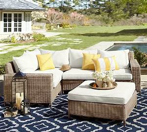 How to clean your outdoor furniture pottery barn for Cleaning pottery barn upholstery