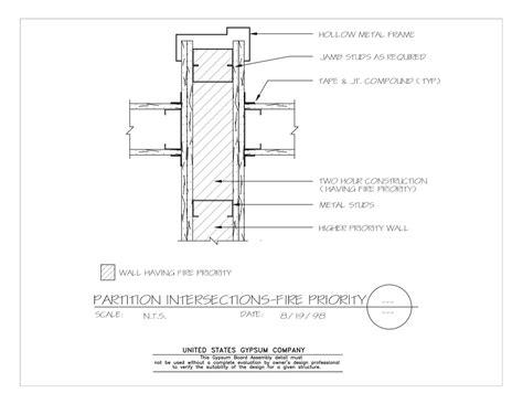 Usg Design Studio Wall Intersections Download Details