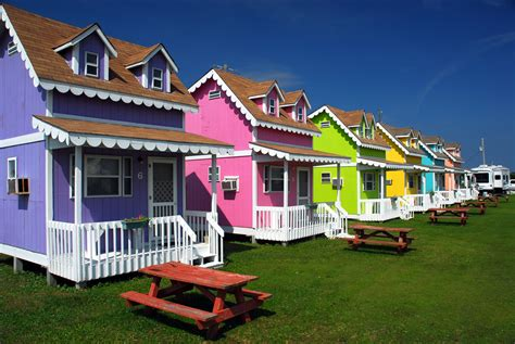 Cottages In Family Campgrounds In Nova Scotia