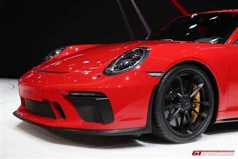 Where the original 996 gt3 rs's wing had developed a modest. Geneva 2017: Porsche 911 GT3 type 991.2 - GTspirit