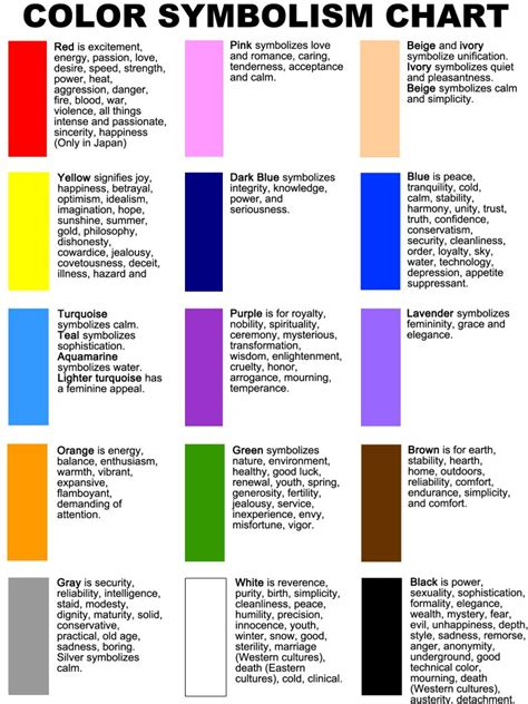 colors symbolism does color matter in a logo logodesigngroup