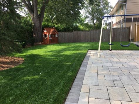 Leveling Out A Backyard by How To Level A Bumpy Lawn Diy Lawn Expert