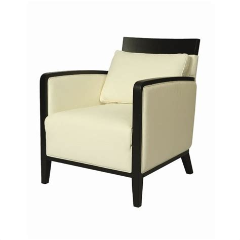 pastel furniture elloise club chair in top grain white leather