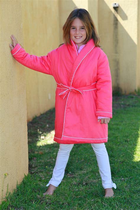 robe de chambre fille fushia etoile l 39 orangerie