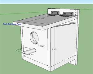 PDF Woodwork Finch Bird House Plans Download DIY Plans