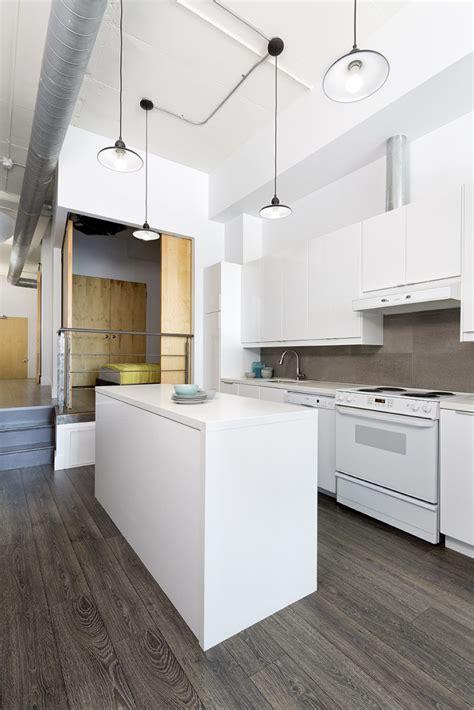 cuisine blanche avec ilot central cuisine moderne blanche avec ilot central