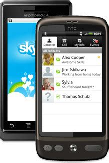 skype for smartphones skype for android phones