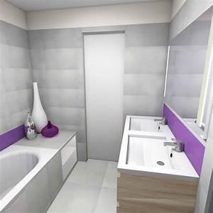 Plan 3d Salle De Bain : realisation salle de bain 3d ~ Melissatoandfro.com Idées de Décoration
