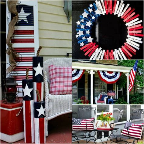 patriotic outdoor decorations 4th of july front porch ideas patriotic front porch ideas