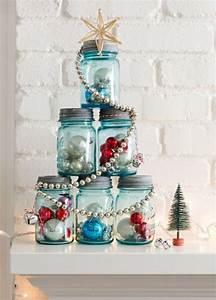 Pot En Verre Deco : d co pot en verre pour no l cr er un conte de neige dans ~ Melissatoandfro.com Idées de Décoration