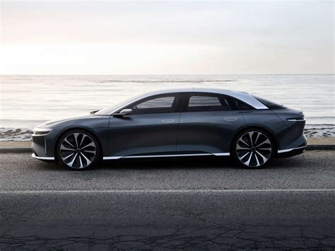 Electric Sedan by Tesla Wannabe Lucid Takes On The Auto Industry With A