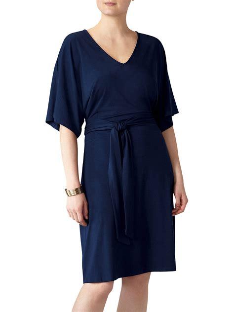 pure collection kimono sleeve jersey dress  john lewis