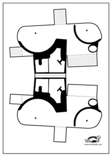 krokotak tractor paper model