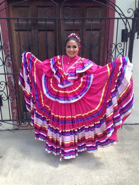 My dress for our Jalisco dance Vestidos tipicos de