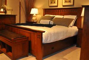 Stickley Mission bedroom - Craftsman - Bedroom - kansas