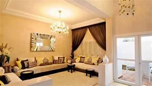 Décoration Appartement Moderne : d coration appartement marocaine moderne youtube ~ Nature-et-papiers.com Idées de Décoration