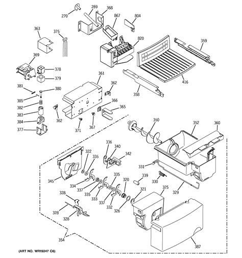 ge gsljfpebs side  side refrigerator parts sears partsdirect