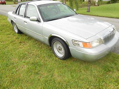 floor ls very find used 2001 grand marquis ls low 51k factory seats and floor shift in fort